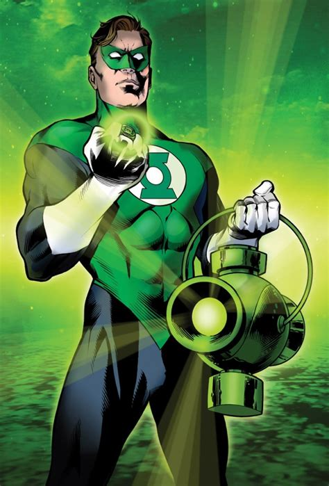 the writing rambler yes one of several thousand green lanterns is