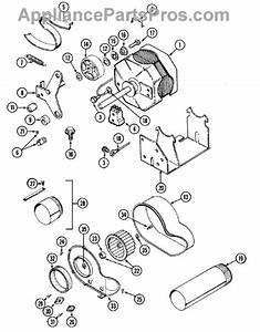 Parts For Maytag Lse7804ace  Motor