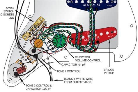 Fender Stratocaster Way Switch Wiring Diagram