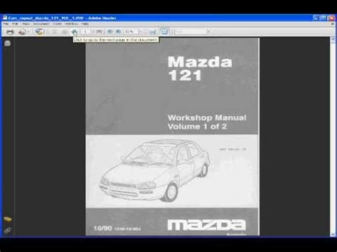 Mazda 121 Fuse Box Diagram by Mazda 121 Manual