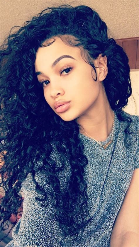 mixed girls curly hairstyles fade haircut