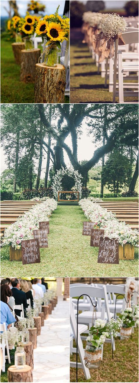 country backyard wedding ideas 32 rustic wedding decoration ideas to inspire your big day