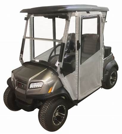 Golf Cart Enclosures Doors Hard Passenger Sided