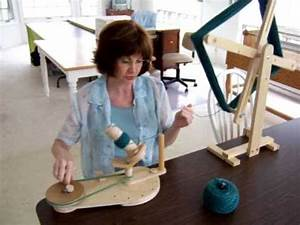 Homemade Ball Winder and Swift - YouTube