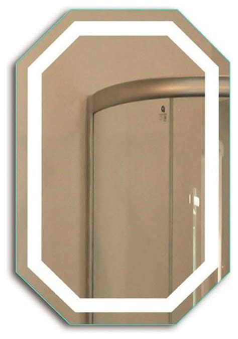 Octagon Bathroom Mirror by Led Lighted Octagon 20 Quot X 30 Quot Wall Mount Bathroom Mirror