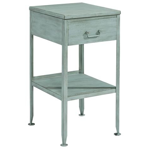 magnolia home end table magnolia home by joanna gaines accent elements small metal