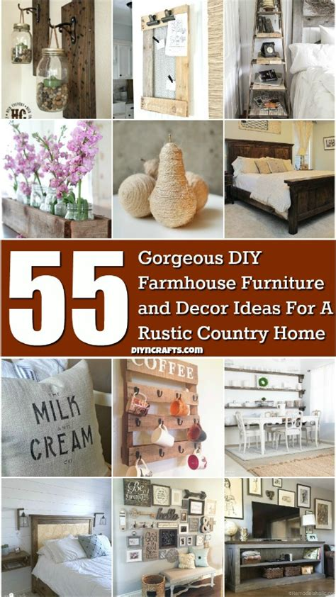 gorgeous diy farmhouse furniture  decor ideas