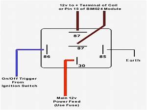 Best Relay Wiring Diagram 5 Pin Wiring Diagram Bosch 5 Pin Relay Gallery Image