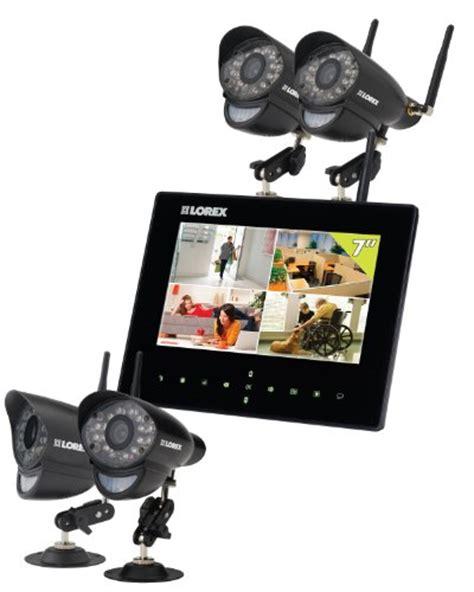 lorex lwb  wireless video monitoring system black