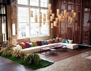 Salon Oriental Moderne : le canap marocain qui va bien avec votre salon lampions ~ Preciouscoupons.com Idées de Décoration