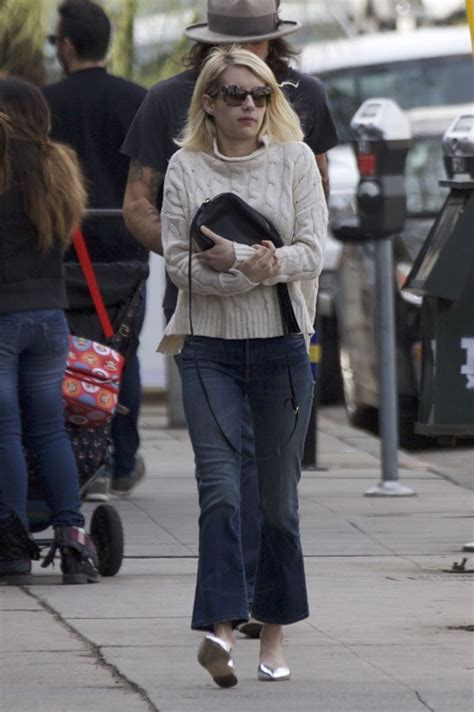 Emma Roberts Street Style - Out in West Hollywood 12/21 ...