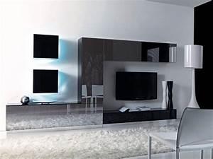 Pareti attrezzate pareti attrezzate porta tv e a libreria for Pareti attrezzate tv