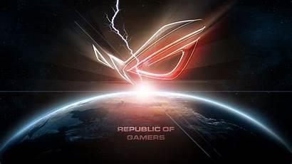 Gamers Republic Asus Rog Amd Wallpapersafari Pc