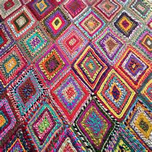Le Multicolore by M 233 Tisse Le Tapis Indien Multicolore