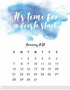Printable Calendar November 2020 January 2018 Calendar With Quote Calendar Quotes