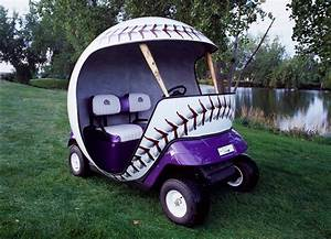 U0026 39 Cart U0026 39  Blanche  Custom Golf Carts Take Game  Promotions To
