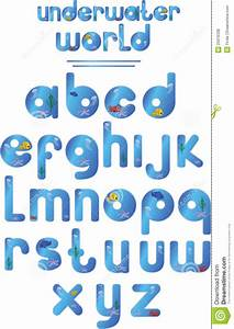 underwater alphabet royalty free stock photos image With ocean alphabet letters