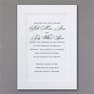 paneled invitation gt wedding invitations staples With staples wedding invitations reviews