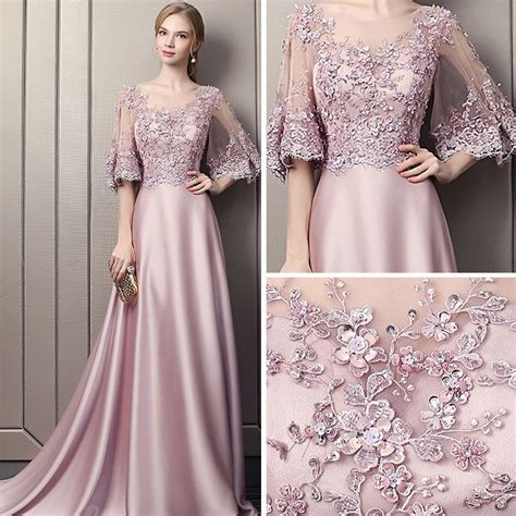 modern fashion candy pink pierced evening dresses