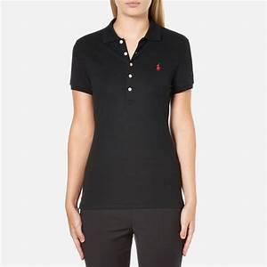 Polo Ralph Lauren Women's Julie Polo Shirt - Black - Free ...