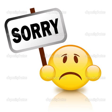 27320 smiley with sorry symbol stock vector 169 natalipopova 124505 animated of saying sorry clipart