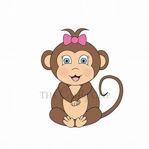 Baby Monkey Clip Art | baby monkey clip art image search ...