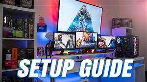 Ultimate Guide For The Perfect Desk    Gaming Setup  Ud83c Udfae