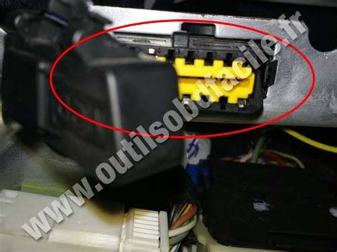 obd connector location  fiat siena