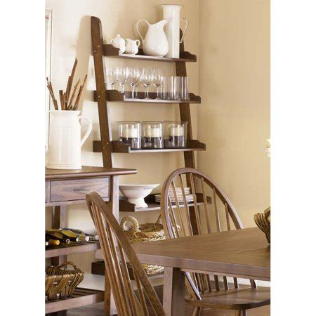 Leaning Bookcase Walmart by Liberty Furniture Farmhouse 5 Shelf Leaning Bookcase In