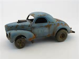 Weathering Scale Model Car