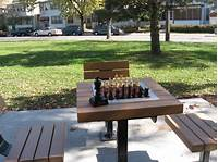 outdoor chess table Outdoor Park Chess Boards And Equipment - Chess Forums ...