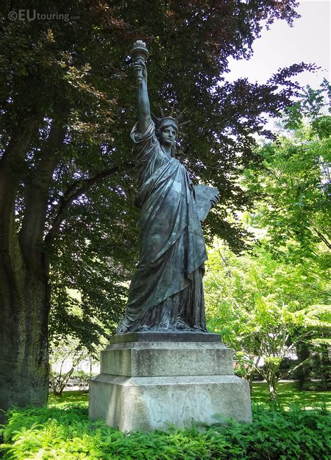 Photos of Statue of Liberty in Luxembourg Gardens Paris ...