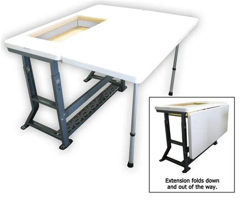 sewing machine tables for quilting original sew perfect sewing table love this table and