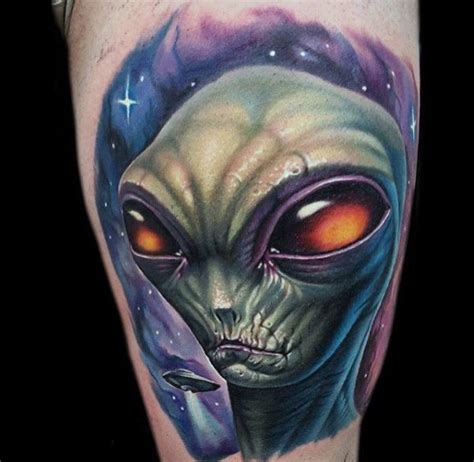 alien tattoos design  ideas