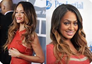 Blonde Ombre Hair On Black Women