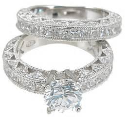 vintage wedding ring sets slindile mbelu engagement wedding set ring antique