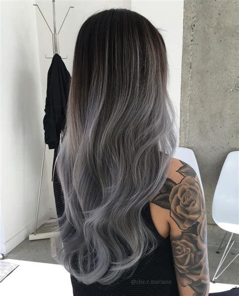 50 Shades Of Gray Ombré Hair Perfection Okay 16 Brit
