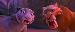 Ice age Collision Course: Diego and Shira funny by ...