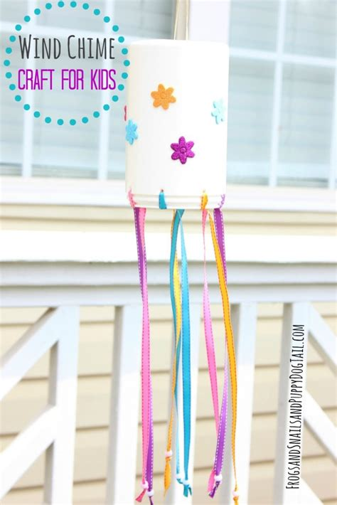 wind chime crafts for preschoolers wind chime for to make fspdt 252