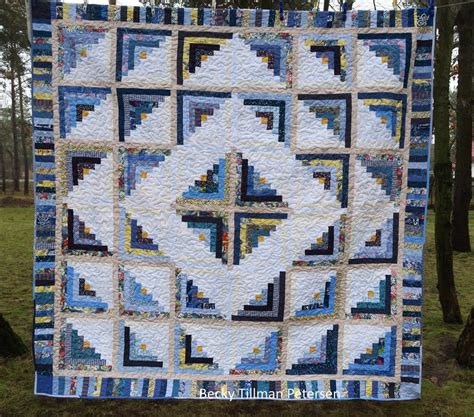 cabin fever blues quilt pattern favequiltscom