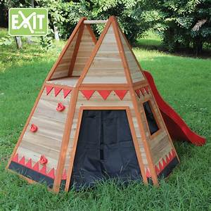 Gartenhaus Holz Kinder : exit tipi zelt spielhaus aus holz gartenhaus f r kinder ebay ~ Watch28wear.com Haus und Dekorationen