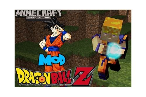 minecraft pe mod dragon ball c