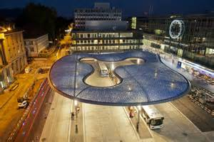 cloud architektur aarau station canopy vehovar jauslin architektur archdaily
