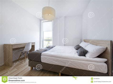 chambre moderne blanche chambre à coucher moderne dans la couleur blanche et beige