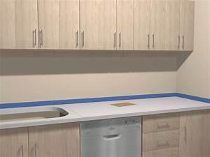 remodelaholic painted formica countertop home design With best brand of paint for kitchen cabinets with no step sticker