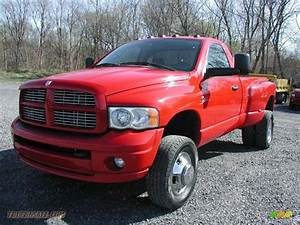 2005 Dodge Ram 3500 Slt Regular Cab 4x4 Dually In Flame
