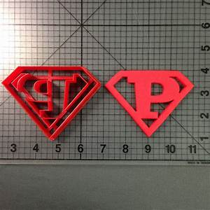 super letter p cookie cutter With letter p cookie cutter
