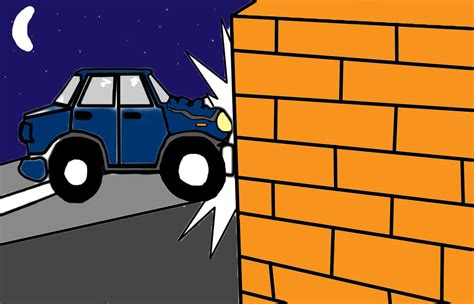 cartoon car crash cool how to draw a car crash pictures inspiration