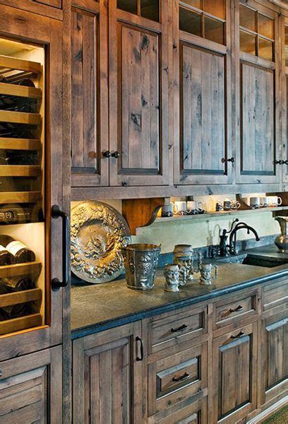 love love love  cabinets rustic country decor