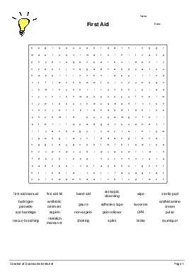 wordsearch puzzle worksheet generator